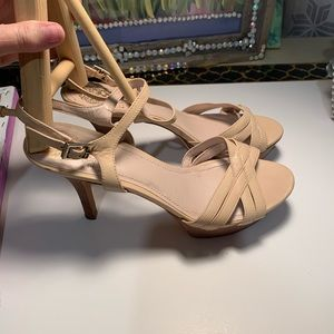 Worn only a few times Vince Camuto platform heels